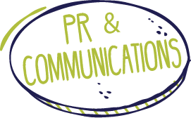 PR & Communications graphic