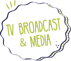 TV Broadcast & Media Graphic